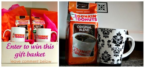 dunkin donuts coffee giveaway