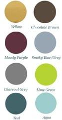 popular decor colors