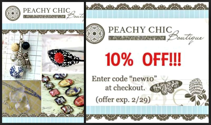 Get Your Craft On- Peachy Chic Boutique giveaway