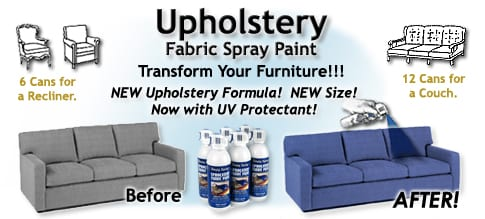 fabulous friday giveaway simply spray upholstery fabric paint. Black Bedroom Furniture Sets. Home Design Ideas