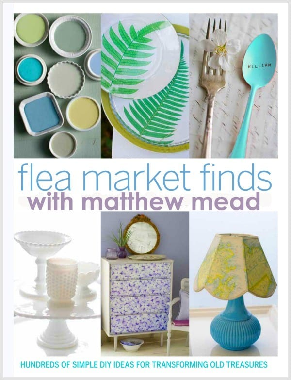 matthew mead flea market finds magazine