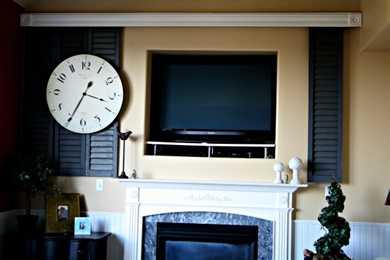 DIY Hide your TV