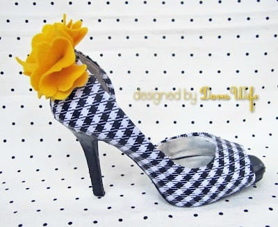 Creative Shoes- mod podge