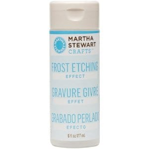 frost etching martha stewart