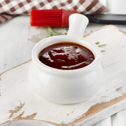 BBQ Sauce Recipe with Coffee | This tangy Barbecue Sauce has a kick. Great for burgers, steak, ribs or chicken! Find the recipe on TodaysCreativeLife.com