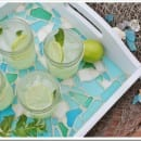 Sea Glass Tray