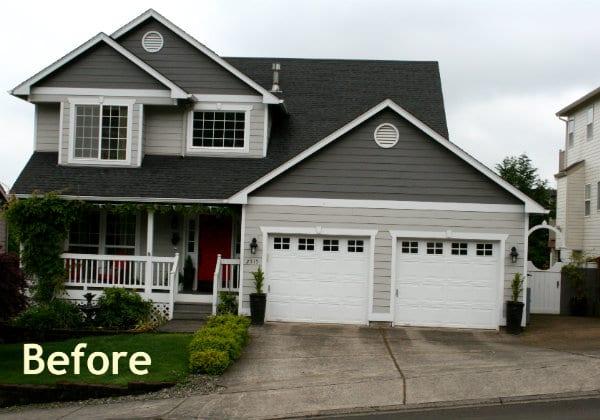 house needing curb appeal