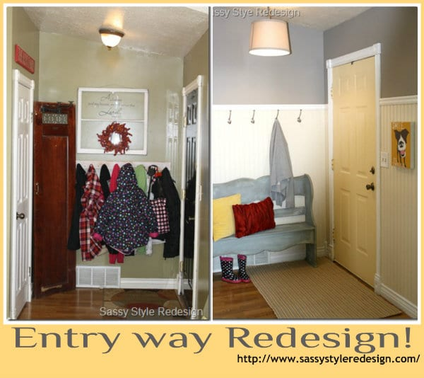 entry way make over