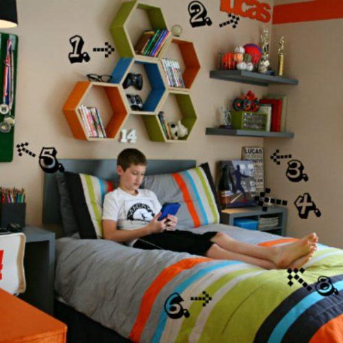 decorating a boy bedroom