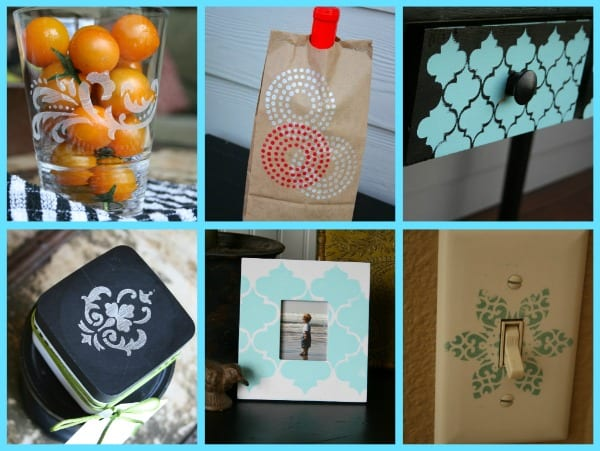 martha stewart stencil ideas