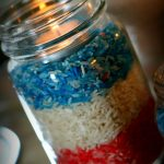 memorial day decor | DIY Red, White and Blue Decoration | Find more creative ideas on TodaysCreativeLife.com
