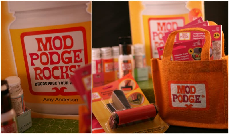 mod podge rocks book