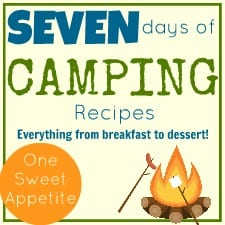 Camping food recipes