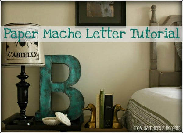how to make a paper monogram