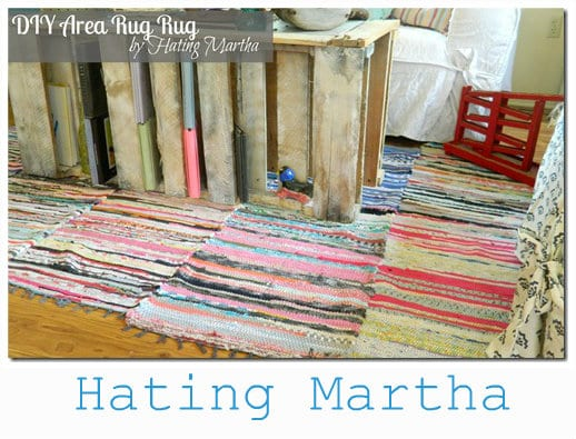 DIY rug making