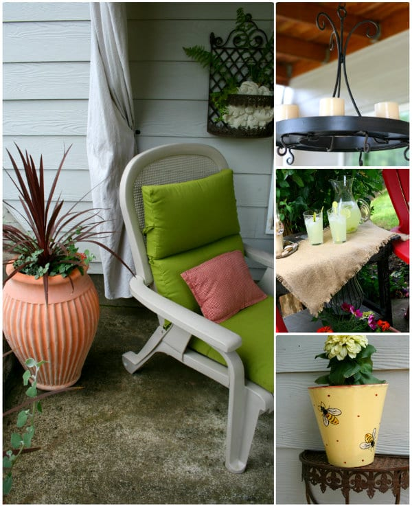 decorating your patio