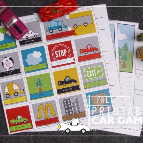 Travel Printables for Kids