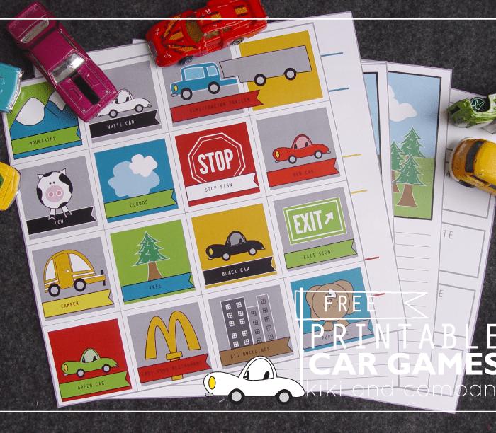 Travel Printables for Kids Free List