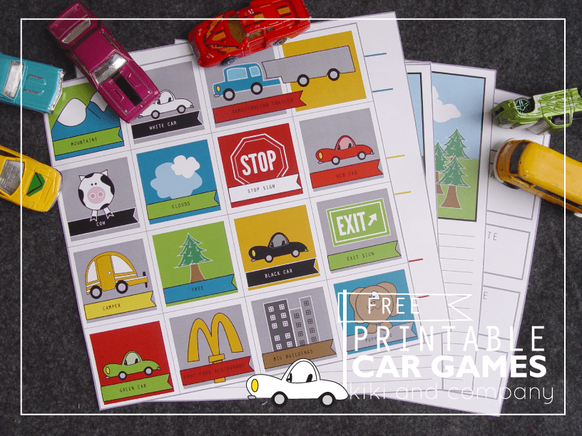 Travel Printables for Kids Free List