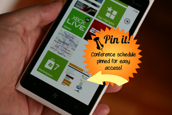 pin it option windows phone