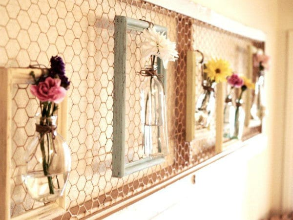 Crafts to make- chicken wire frame