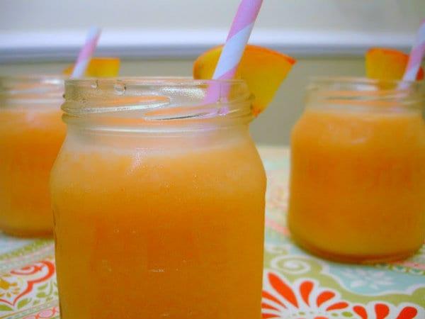 peach smoothy recipe
