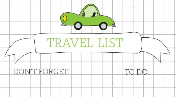Travel Printables for Kids | TodaysCreativeBlog.net