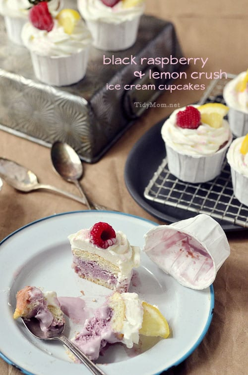 Ice Cream Cupcake - TidyMom.net