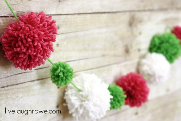 How to make pom poms- Live Laugh Rowe.com