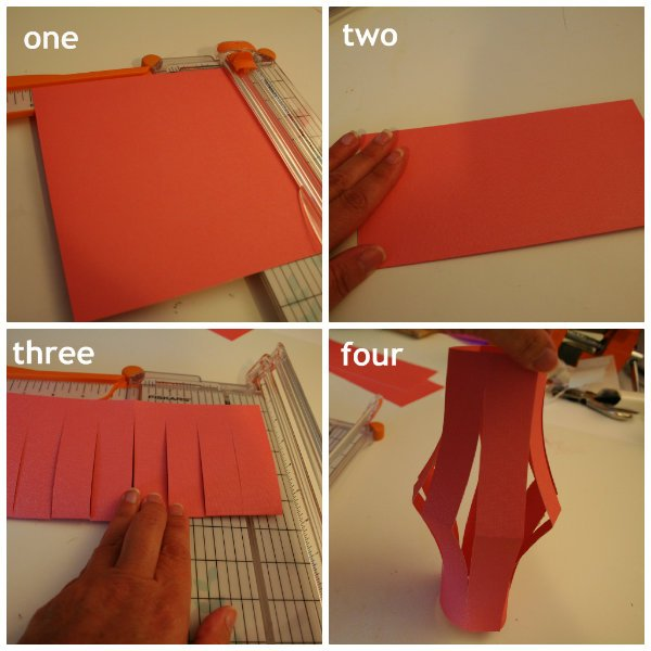 Simple Paper Lantern tutorial Today's Creative Blog