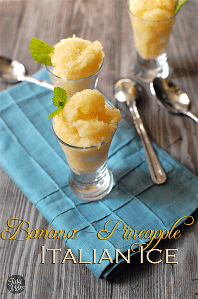 banana pineapple ice recipe- TidyMom.net