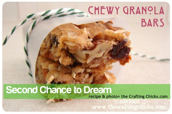 Granola bars- The Crafting Chicks.com