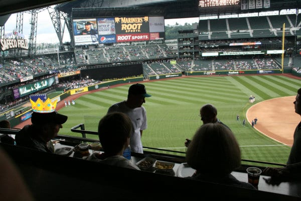 mariners yankee game