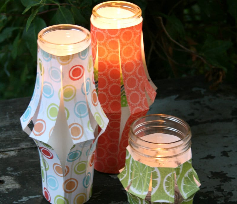 Paper Lantern Tutorial DIY Craft
