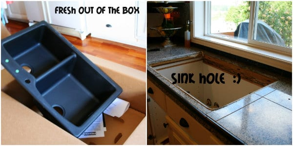 new sink- today's creative blog