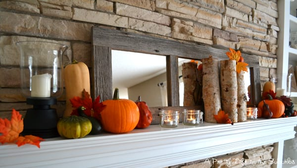 Decorating your Mantel for Fall