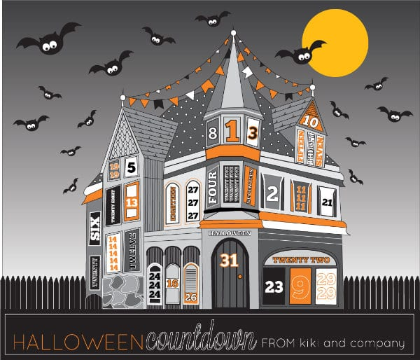 Halloween printables TodaysCreativeLife.com