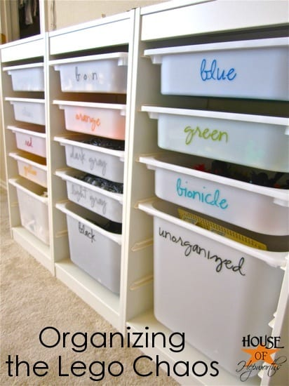 labels for organizing legos