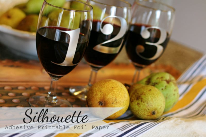DIY Wine Glass Labels ~ That Wine is Mine!