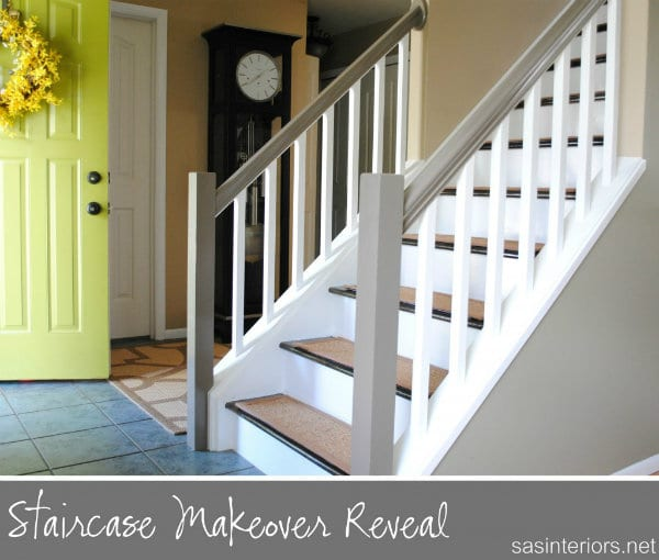 Stair makeover DIY