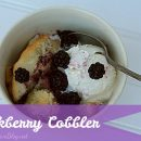 blackberry cobbler recipe- today's creative blog