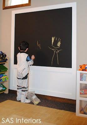 DIY blackboard chalkboard