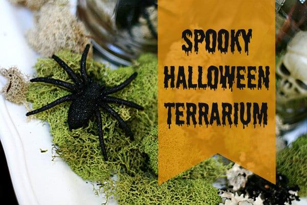Halloween Spirit {Halloween Terrarium}