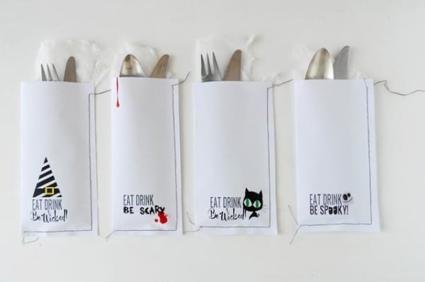 Halloween cutlery Printables