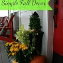 decorating your fall porch