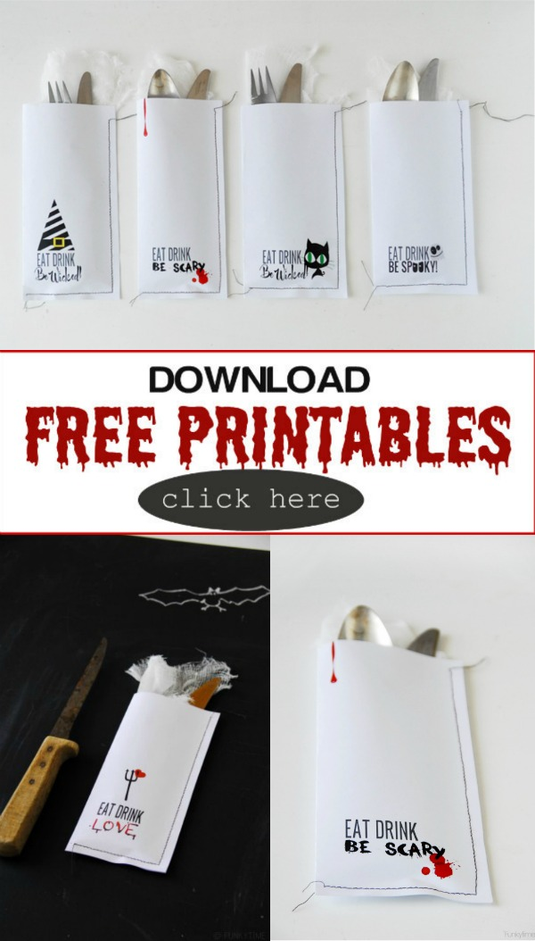 Creative Ideas for Halloween | Free Printables | TodaysCreativeBlog.net