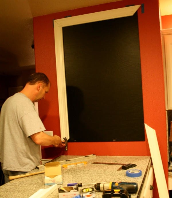 Making a Large Chalkboard
