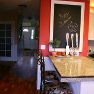 DIY Black Chalkboard