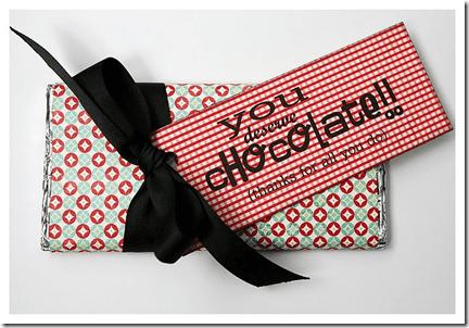 make a candy bar wrapper
