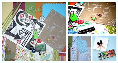 scrapbooking 12 x 12 layout